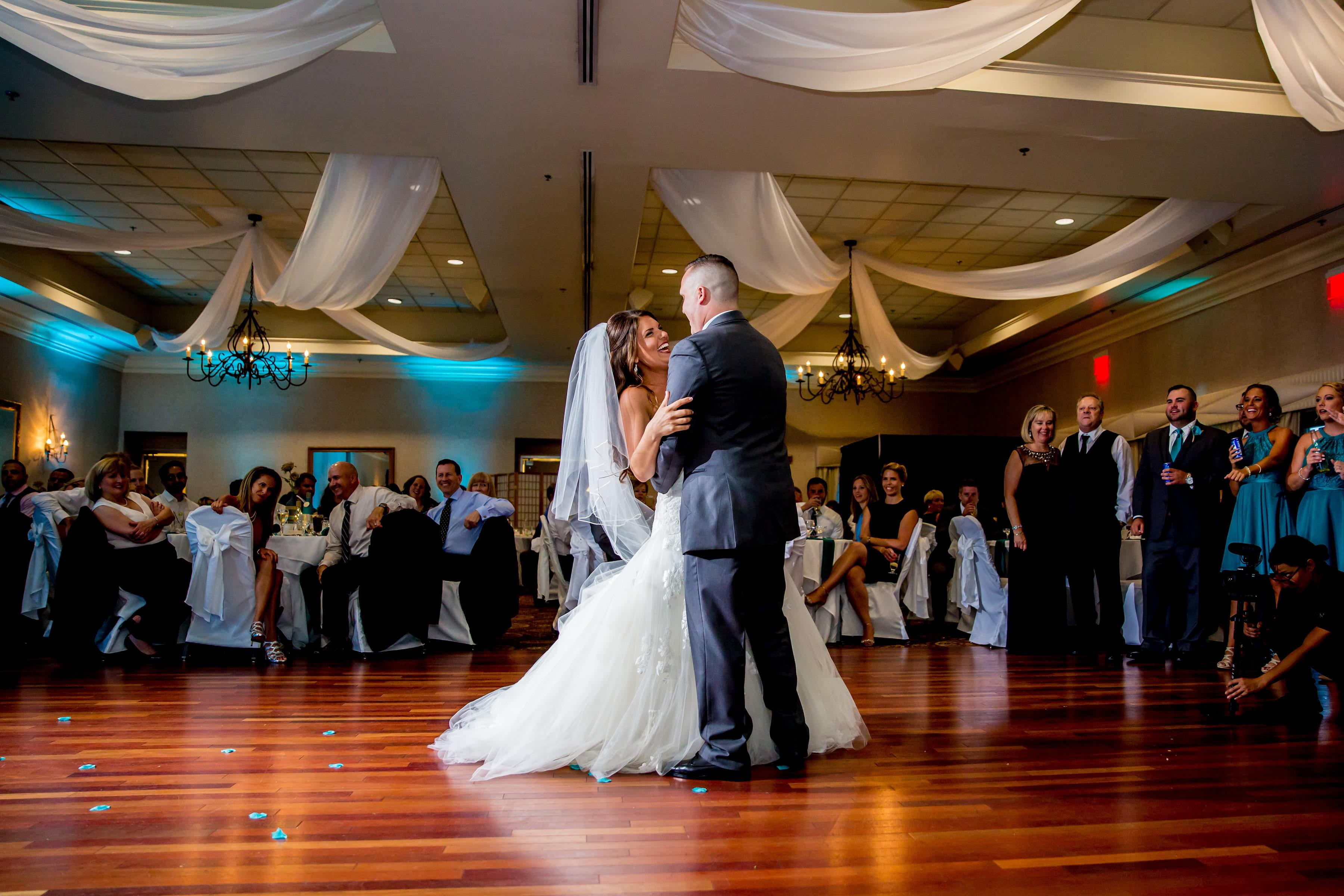 Wedding Couple at Marco's Restaurants & Events
