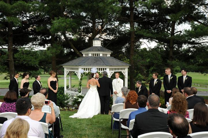 Wedding Ceremony at Marco's Restaurants & Events