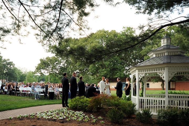 Wedding Ceremony at Marco's Restaurants & Events